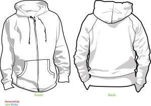 Customised hoody